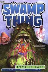 Portada de Swamp Thing por Enrique Breccia